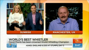 David Morris on Sunrise Australia